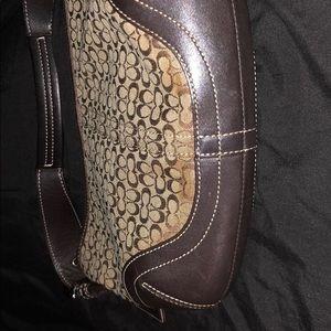 Authentic Coach small hobo purse